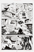 "Original Comic Art:Panel Pages, Steve Rude and Gary Martin Nexus #95 ""Nightmare in Blue"" #1 Story Page 4 Original Art (Dark Horse, 1997)...."