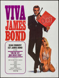 "Movie Posters:James Bond, Viva James Bond (United Artists, R-1970). French Affiche (23.5"" X31.5""). James Bond. You Only Live Twice.. ..."