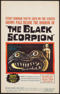 """Movie Posters:Science Fiction, The Black Scorpion (Warner Brothers, 1957). Window Card (14"""" X22""""). Science Fiction.. ..."""