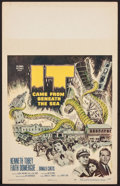 "Movie Posters:Science Fiction, It Came from Beneath the Sea (Columbia, 1955). Window Card (14"" X22""). Science Fiction.. ..."