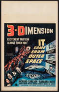 "Movie Posters:Science Fiction, It Came from Outer Space (Universal International, 1953). WindowCard (14"" X 22"") 3-D Style. Science Fiction.. ..."