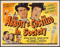 """In Society (Universal, 1944). Title Lobby Card (11"""" X 14""""). Comedy"""