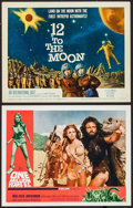 """Movie Posters:Fantasy, One Million Years B.C. & Others Lot (20th Century Fox, 1966).Lobby Card, Title Lobby Card (11"""" X 14""""), Insert (14"""" X 36"""")&... (Total: 4 Items)"""