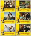 "Movie Posters:James Bond, On Her Majesty's Secret Service (United Artists, 1970). Lobby Cards(6) (11"" X 14""). James Bond.. ... (Total: 6 Items)"