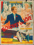 """Movie Posters:Foreign, Bouquet de Joie (Sonofilm, 1952). French Grande (47"""" X 63""""). Foreign.. ..."""
