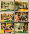 """Movie Posters:Western, Home on the Prairie & Others Lot (Republic, 1939). Title Lobby Card and Lobby Cards (9) (11"""" X 14""""), & Trimmed Lobby Card (1... (Total: 11 Items)"""