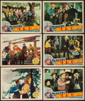 "Movie Posters:Western, Melody Trail & Others Lot (Republic, 1935). Lobby Cards (11) & Title Lobby Card (11"" X 14""). Western.. ... (Total: 12 Items)"