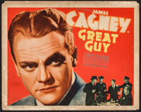 """Great Guy (Grand National, 1936). Title Lobby Card (11"""" X 14""""). Drama"""