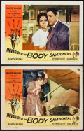 "Movie Posters:Science Fiction, Invasion of the Body Snatchers (Allied Artists, 1956). AutographedLobby Card & Lobby Card (11"" X 14""). Science Fiction.. ...(Total: 2 Items)"