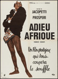 """Movie Posters:Documentary, Africa Addio (Rizzoli, 1966). French Affiche (22.75"""" X 31.25""""). Documentary.. ..."""