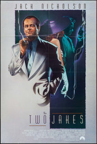 "The Two Jakes (Paramount, 1990). One Sheet (27"" X 40"") & Lobby Cards (7) (11"" X 14""). Crime..."
