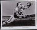"Football Collectibles:Photos, 1960's Lance Alworth Original Photograph - Definitive Shot of""Bambi""!..."