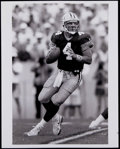 Football Collectibles:Photos, 1992 Brett Favre Original Photograph - Historically Significant Image from Favre's 1st Game with Packers! ...