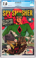 Golden Age (1938-1955):Superhero, Spy Smasher #6 (Fawcett Publications, 1942) CGC FN/VF 7.0 Off-white pages....