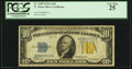 Fr. 2309 $10 1934A North Africa Silver Certificate. PCGS Very Fine 25