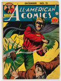 Golden Age (1938-1955):Superhero, All-American Comics #21 (DC, 1940) Condition: VG-....