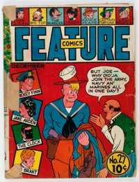 Feature Comics #27 (Quality, 1939) Condition: Incomplete