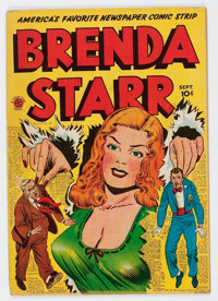 Brenda Starr #13 (#1) (Superior Comics, 1947) Condition: VG