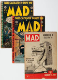Golden Age (1938-1955):Humor, MAD Group of 8 (EC, 1953-54) Condition: Average GD.... (Total: 8 Comic Books)