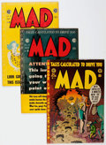 Golden Age (1938-1955):Humor, MAD #8 and 17-23 Group (EC, 1954-55) Condition: Average VG.... (Total: 8 Comic Books)