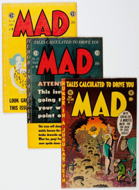 MAD #8 and 17-23 Group (EC, 1954-55) Condition: Average VG.... (Total: 8 Comic Books)
