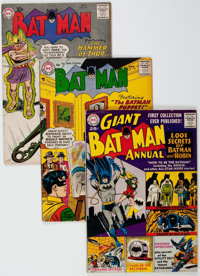 Batman Group of 19 (DC, 1957-73) Condition: Average VG.... (Total: 19 Comic Books)