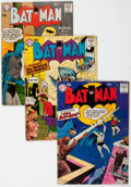 Silver Age (1956-1969):Superhero, Batman Group of 17 (DC, 1958-72) Condition: Average GD/VG.... (Total: 17 Comic Books)