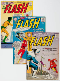 The Flash Group of 15 (DC, 1960-67) Condition: Average VG/FN.... (Total: 15 Comic Books)