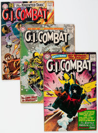 G.I. Combat Group of 21 (DC, 1957-82) Condition: Average VG.... (Total: 21 Comic Books)