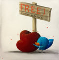 Original Comic Art:Paintings, Free to a Loving Home Only | Canvas # 147 | Group 4. Artist: To Be Announced . Red Dot Benefiting the Chuck ...