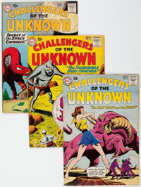 Challengers of the Unknown Group of 34 (DC, 1960-78) Condition: Average VF.... (Total: 34 Comic Books)