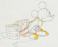 Animation Art:Production Drawing, Fantasia Mickey Mouse Animation Drawing (Walt Disney,1940)....