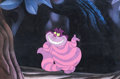 Animation Art:Production Cel, Alice in Wonderland Cheshire Cat Production/Color Model Cel(Walt Disney, 1951)....