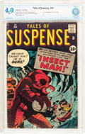 Silver Age (1956-1969):Horror, Tales of Suspense #24 (Marvel, 1961) CBCS VG 4.0 White pages....