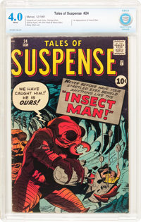 Tales of Suspense #24 (Marvel, 1961) CBCS VG 4.0 White pages