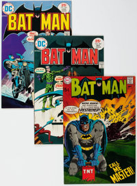 Batman Short Box Group (DC, 1969-91) Condition: Average VF/NM