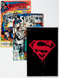 Modern Age (1980-Present):Superhero, Superman-Related Box Lot (DC, 1980s-90s) Condition: AverageVF/NM....