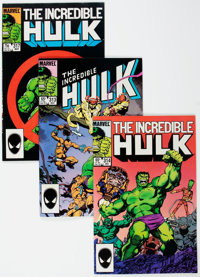 The Incredible Hulk #313-317 Box Lot (Marvel, 1985-86) Condition: Average VF/NM