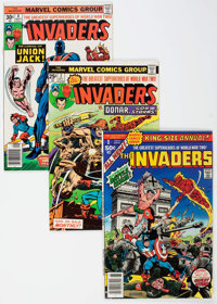 The Invaders Box Lot (Marvel, 1976-79) Condition: Average FN/VF