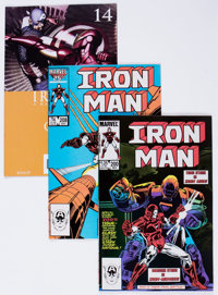 Iron Man and Others Box Lot (Marvel, 1970s-2000s) Condition: Average FN/VF