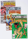Modern Age (1980-Present):Superhero, Spectacular Spider-Man Box Lot (Marvel, 1982) Condition: AverageVF/NM....