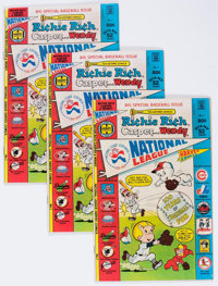 Richie Rich, Casper and Wendy National League #1 File Copy Long Box Group (Harvey, 1976) Condition: Average VF+