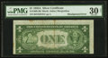 Error Notes:Miscellaneous Errors, Fr. 1608 $1 1935A Silver Certificate. PMG Very Fine 30 Net.. ...