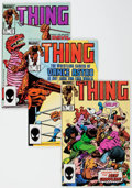 Modern Age (1980-Present):Superhero, The Thing Box Lot (Marvel, 1983-86) Condition: Average FN/VF....(Total: 2 Items)