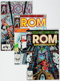 Modern Age (1980-Present):Superhero, Rom Box Lot (Marvel, 1982-85) Condition: Average FN/VF.... (Total:2 Box Lots)