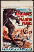 "Movie Posters:Science Fiction, 20 Million Miles to Earth (Columbia, 1957). Belgian (14"" X 21.5"").Science Fiction.. ..."