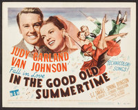 """In the Good Old Summertime (MGM, 1949). Title Lobby Card (11"""" X 14""""). Musical"""