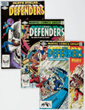 Modern Age (1980-Present):Superhero, The Defenders #105-108 Box Lot (Marvel, 1982) Condition: AverageVF/NM....