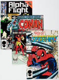 Modern Age (1980-Present):Miscellaneous, Marvel Modern Age Comics Box Lot (Marvel, 1980s) Condition: Average GD.... (Total: 2 Box Lots)