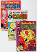 Bronze Age (1970-1979):Cartoon Character, Richie Rich Cash File Copies Box Lot (Harvey, 1974-82) Condition:Average VF/NM....